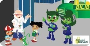 A Familia Trebón no Planeta Verde