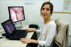 A investigadora Aitana Lertxundi / UPV/EHU