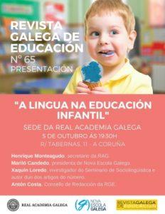 A lingua na educación infantil: Fálalle Galego