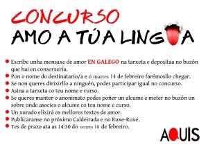 Concurso Amo a túa lingua - IES Aquis Celenis