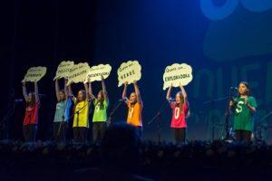 Quero Cantar, certame de música infantil en lingua galega