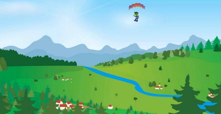 No Caderno Verde, acompañamos a Anselmo nunha viaxe en parapente polo Planeta Verde