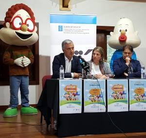 Os seis irmáns Bolechas e o seu can Chispa non podían faltar á súa cita co programa de dinamización lingüística 'FalaRedes'