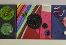 Astrovaqueiros e cousas Reciclaxe, arte e astronomía