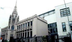 Fachada do colexio Labaca na Coruña